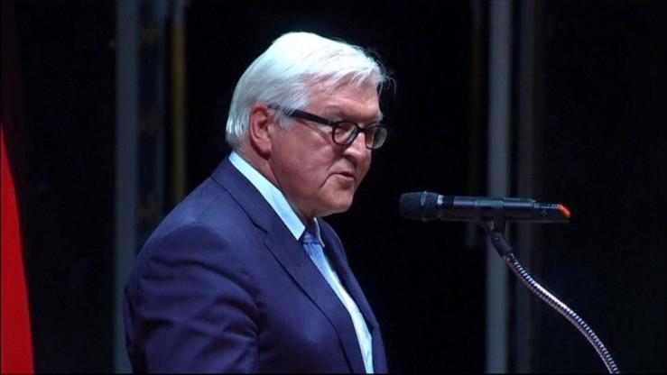 Steinmeier: traktat z Polską kamieniem milowym