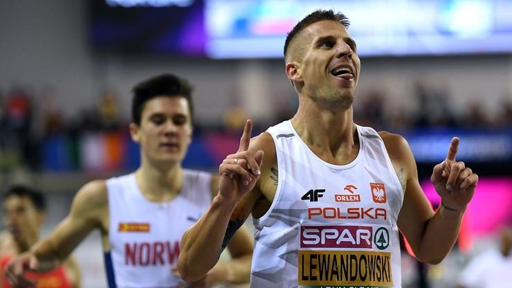 HME Glasgow 2019: Złoto Lewandowskiego na 1500 m