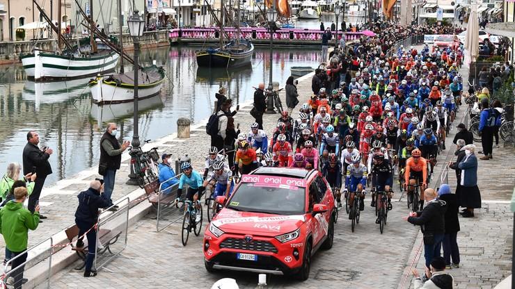 Giro d'Italia: Jhonathan Narvaez wygrał 12. etap po ucieczce