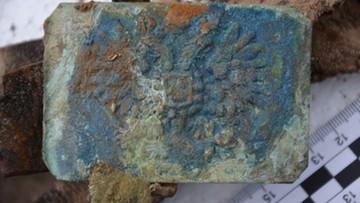 Niecodzienne znalezisko na posesji. Odkryto szczątki żołnierza Carskiej Armii Rosyjskiej