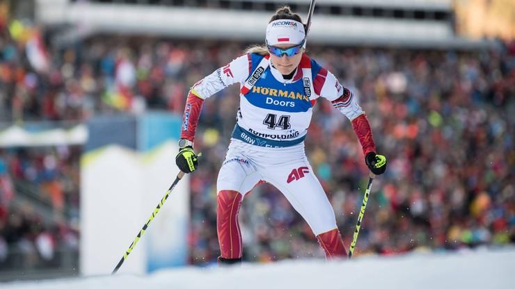PŚ w biathlonie: Monika Hojnisz-Staręga 17. w sprincie w Oberhofie