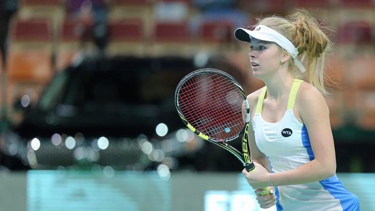 WTA w Lugano: Fręch odpadła w kwalifikacjach po dwudniowym meczu