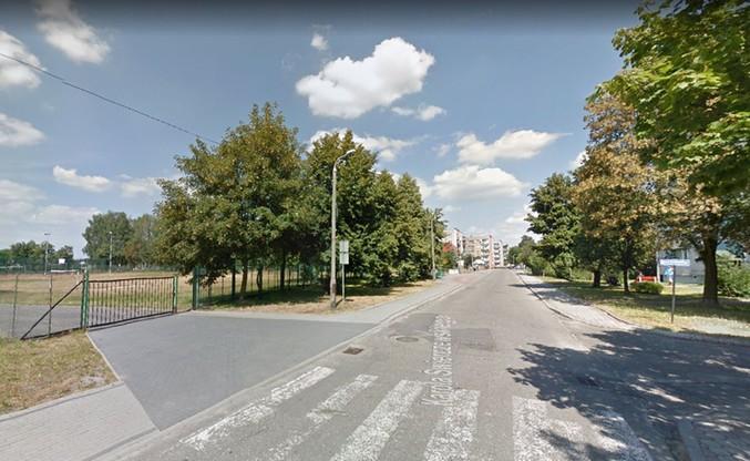 Ulica gen. Świerczewskiego w Kuźni Raciborskiej