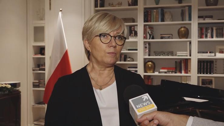Przyłębska: do TK nie wpłynął żaden wniosek kwestionujący członkostwo Polski w UE