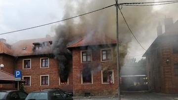 Wybuch w kamienicy w Rudzie Śląskiej. Dwie osoby poszkodowane