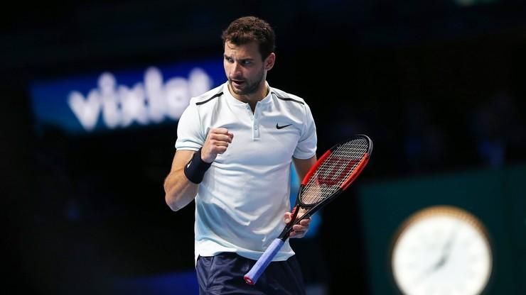 ATP w Chengdu: Dimitrow odpadł w ćwierćfinale