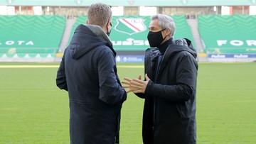 Paulo Sousa wizytował stadion Legii Warszawa