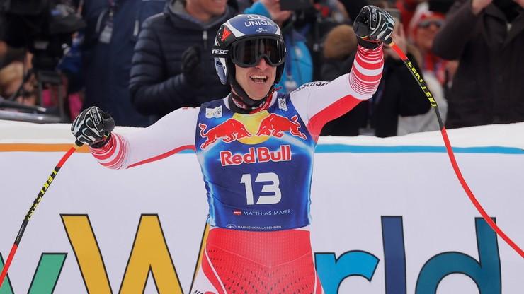 Alpejski PŚ: Triumf Mayera w zjeździe w Kitzbuehel