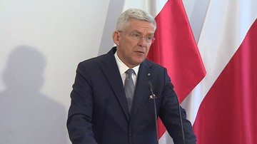 """Senat opublikował """"zaktualizowaną"""" listę lotów Karczewskiego. Zniknęły dwie podróże"""