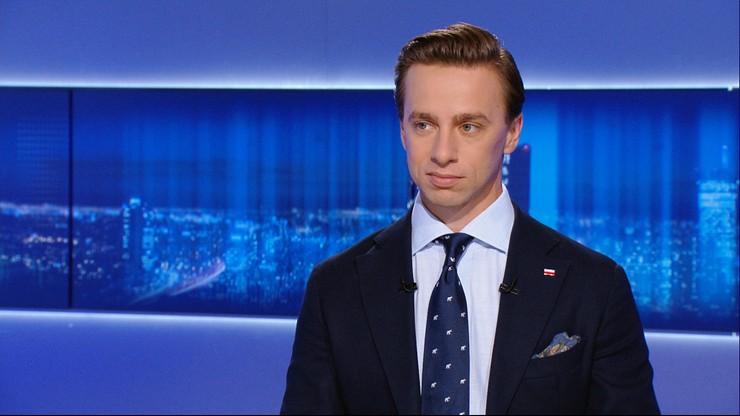 Bosak: życzę Trzaskowskiemu, żeby został polskim patriotą, może nawet narodowcem