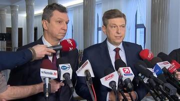 """""""Macierewicz broniąc Misiewicza straszy wolne media, to skandal"""". Platforma o szefie MON"""