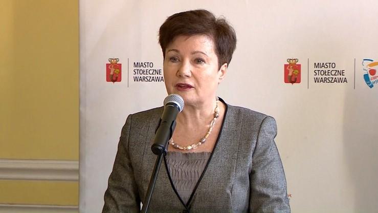 Gronkiewicz-Waltz napisała list do ministra sprawiedliwości ws. delegalizacji ONR