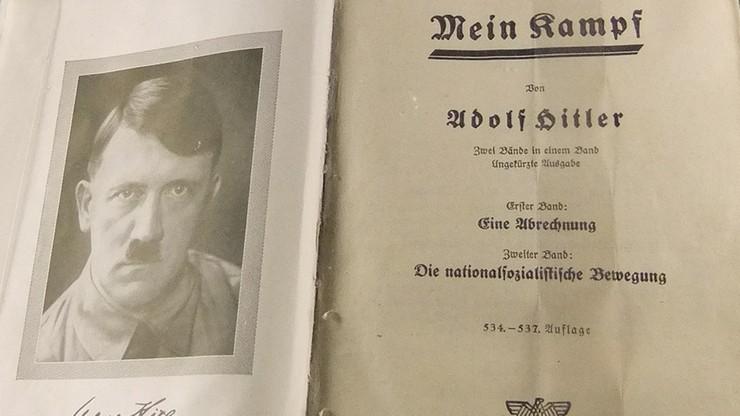 """Niemcy: skrajnie prawicowe wydawnictwo chce wydać """"Mein Kampf"""" Hitlera"""