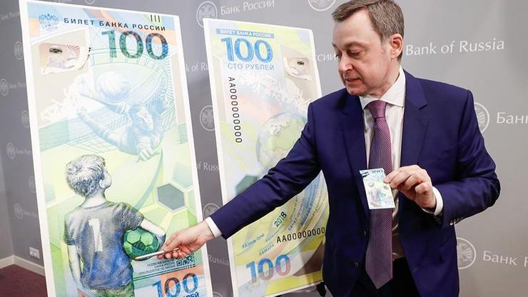 MŚ 2018: Jaszyn na banknotach w Rosji