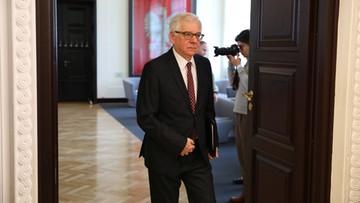 Weteran wojny w Donbasie zatrzymany w Polsce. Czaputowicz wyjaśnia