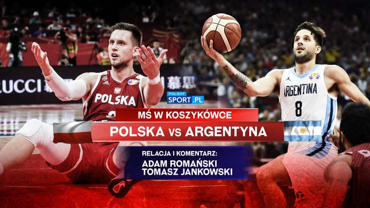 MŚ koszykarzy: Polska - Argentyna. Komentarz ekspertów na żywo