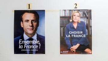 Druga tura wyborów we Francji. Macron kontra Le Pen