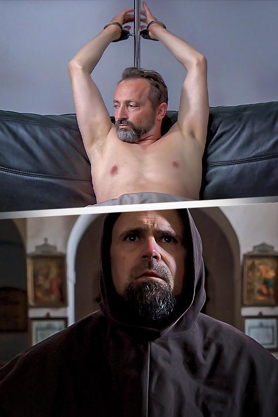 Walczak w klasztorze, Wach w pikantnej sytuacji i...