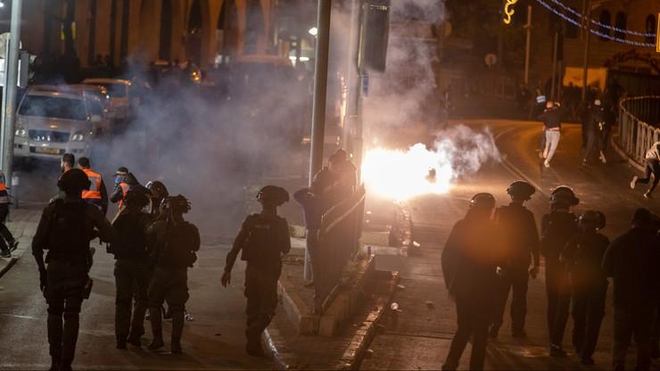 Starcia Palestyńczyków z izraelską policją. Ponad 100 rannych