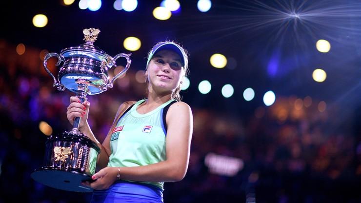 Australian Open: pierwszy wielkoszlemowy tytuł Kenin