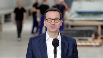 Morawiecki o premiach dla ministrów: niczego nie chcemy, nie możemy i nie będziemy ukrywać