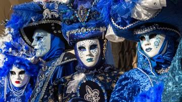 Karnawał w Wenecji z maskami mimo zagrożenia terrorystycznego