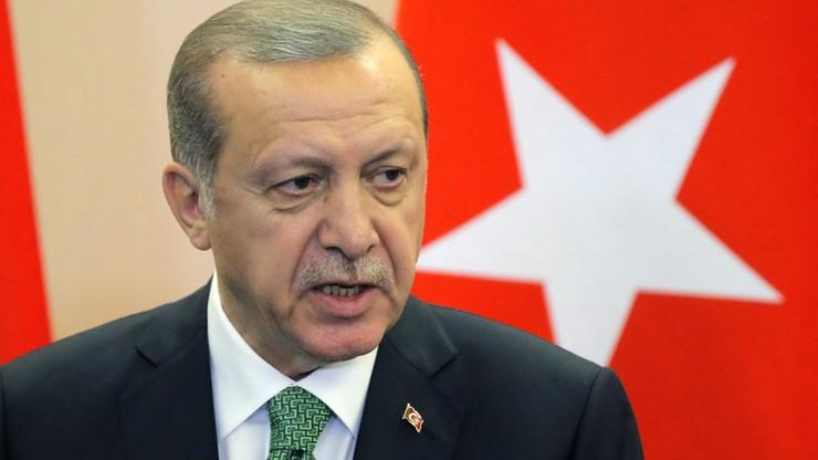 Erdogan wezwał muzułmanów do wsparcia sprawy palestyńskiej. Izrael oburzony