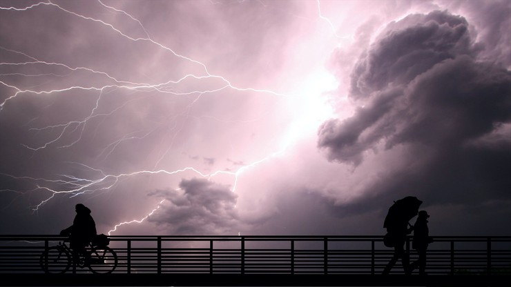 Szykuje się burzowy dzień. Prognoza pogody na wtorek, 20 kwietnia