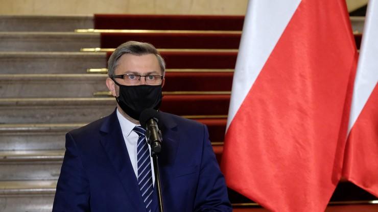 """Rozważałbym wdrożenie dodatkowych restrykcji - wojewoda śląski Jarosław Wieczorek w """"Graffiti"""""""