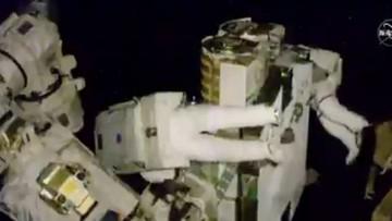 Sześć godzin w przestrzeni kosmicznej. Astronauci montowali instalację