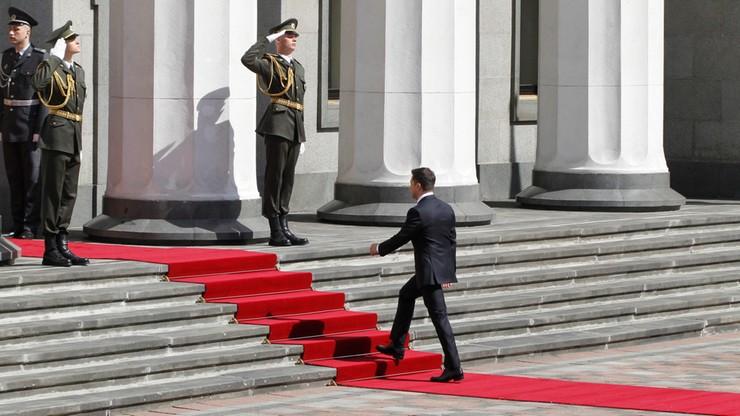 Zełenski zaprzysiężony. W sprawie Donbasu mówił: gotów jestem na wszystko