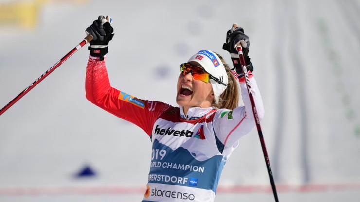 MŚ Oberstdorf 2021: Zwycięstwo Therese Johaug w biegu na 30 km. To był nokaut!