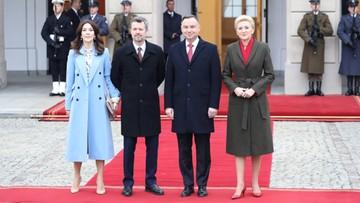 Duńska para książęca z wizytą w Polsce