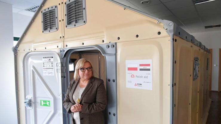 """500 domów z Polski jedzie do Iraku. """"Nasz pierwszy dar na stulecie odzyskania niepodległości"""""""