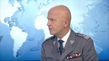 """""""Mam świadomość, że płace w policji są za niskie"""". Komendant Główny Policji w Polsat News"""