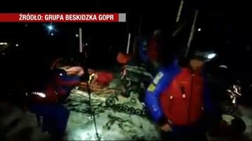 Pięciogodzinna akcja ratunkowa na Babiej Górze. Turyści zgubili szlak podczas schodzenia