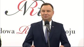 Andrzej Duda o zarobkach w NBP: jeśli to prawda, to jako prezydent zazdroszczę
