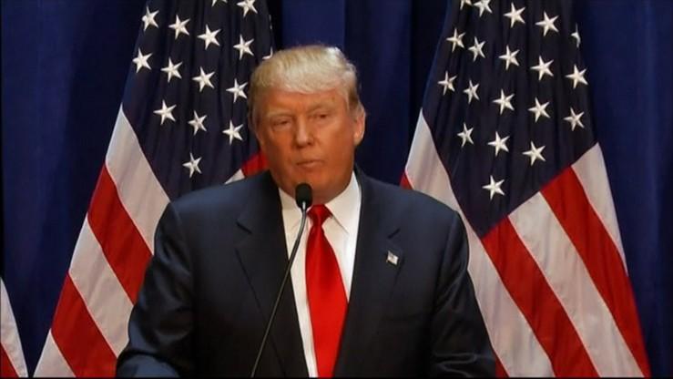 Trump chce odbierać obywatelstwo USA za spalenie flagi