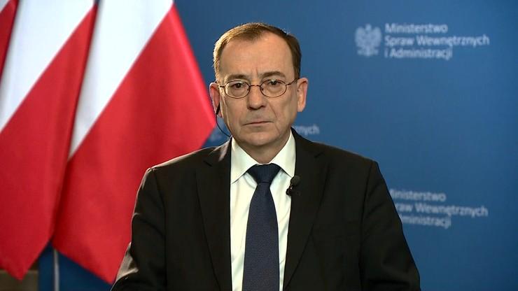 Kamiński: wszystkie działania policji związane są z bezpieczeństwem Polaków