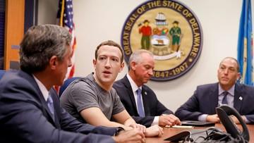 """Mark Zuckerberg odpowiada na zarzuty prezydenta USA, że """"Facebook jest anty-Trumpowski"""""""