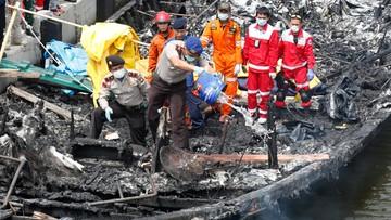 Pożar na promie: 23 osoby nie żyją, 17 zaginionych