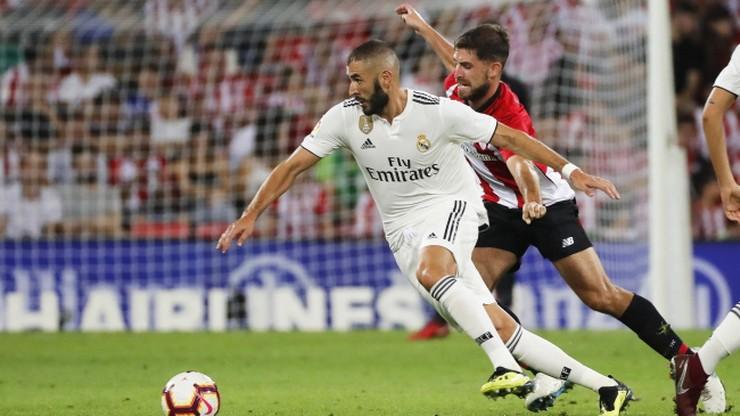 Real Madryt zgubił punkty w Bilbao