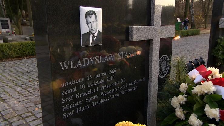 Z grobu W. Stasiaka ekshumowano 33. ofiarę katastrofy smoleńskiej