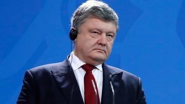 """Trump rozmawiał z Poroszenką m.in o """"rozwiązaniu sytuacji w Donbasie"""""""