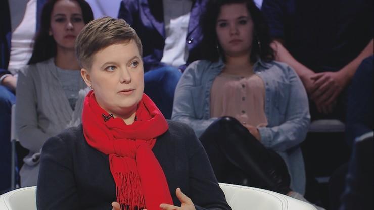 Prof. Przybysz: zainteresowanie w sieci gestem Lichockiej przebiło porno