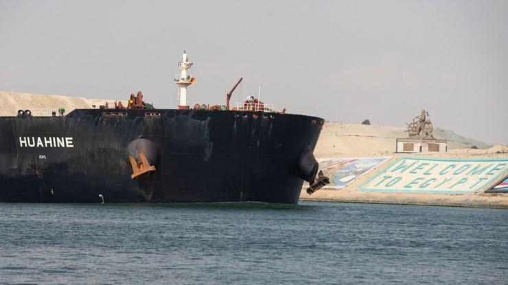 Ruch na Kanale Sueskim rozładowany. Ostatnie statki przepłynęły
