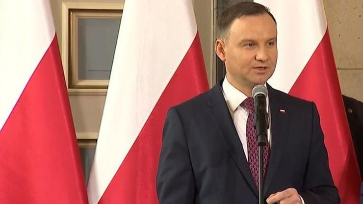 Prezydent: dzisiaj dzieci i wnuki zdrajców Rzeczypospolitej zajmują wiele eksponowanych stanowisk