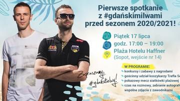 Siatkarze Trefla Gdańsk zapraszają na plażę. Będą zabawy, mecz i prezentacja