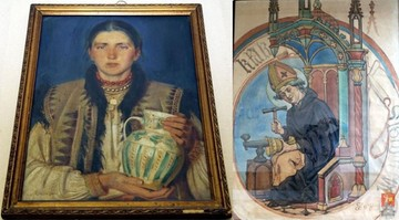 Policja odnalazła zaginione obrazy Matejki i Borucińskego