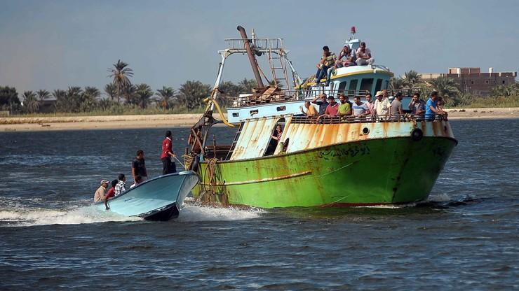 Wyłowiono 148 ciał migrantów z łodzi, która zatonęła u wybrzeży Egiptu